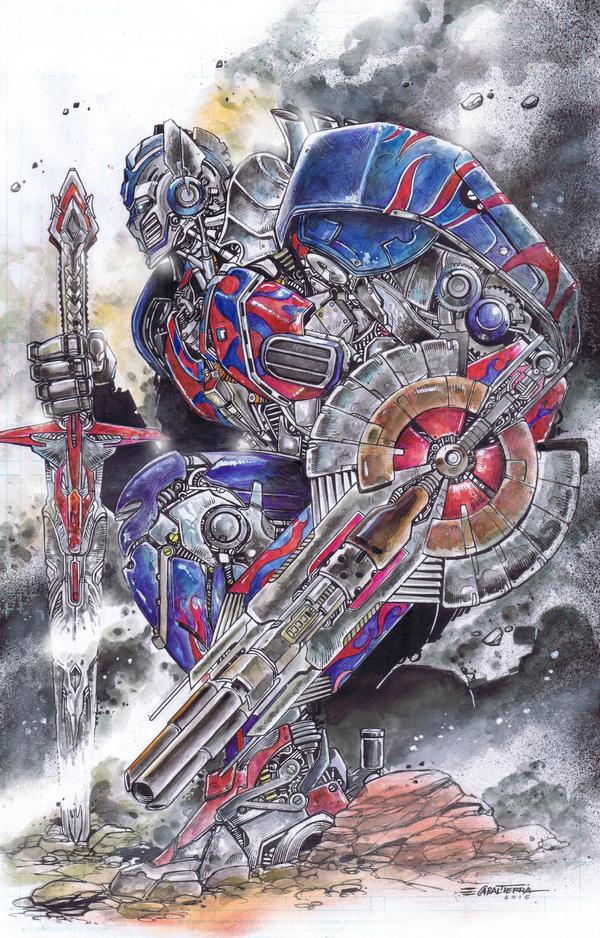 Optimus Prime by emilcabaltierra on DeviantArt