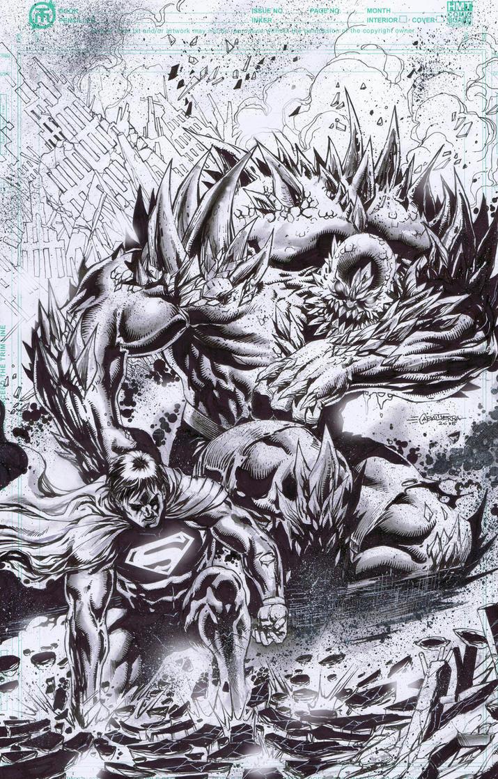 Man of Steel X Doomsday by emilcabaltierra
