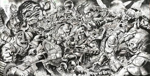 Teenage Mutant Ninja Turtles by emilcabaltierra