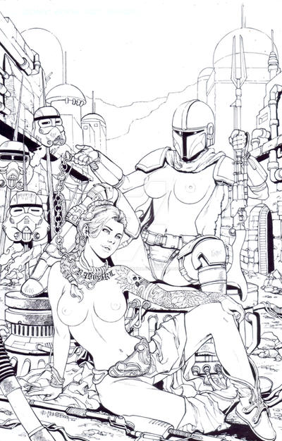 Notti and Nyce Star wars