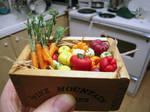 Box of Happy Vegetables WIP