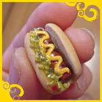 Hotdog Earrings!