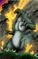 Godzilla By Matt Frank by Luzproco