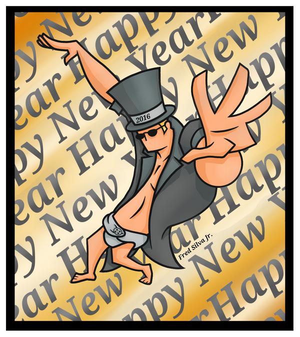 Happy New Year 2017 by Luzproco