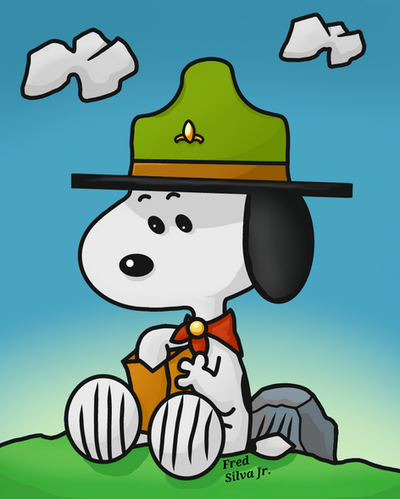 Scout Snoopy by Luzproco
