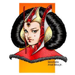 Queen Amidala by Leo Vitalis by Luzproco