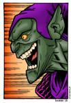 Green Goblin by Bambs