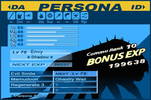 Envy Persona 3 Silhouette