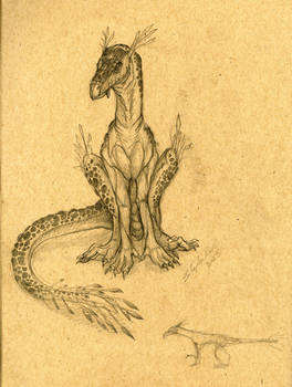 Reptilian creature