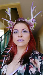 Purple headdress 1