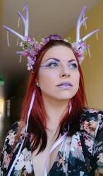 Purple headdress 2