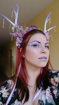 Purple headdress 3