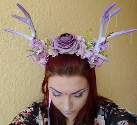 Purple headdress 4