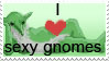 Gnome Stamp by 7744528