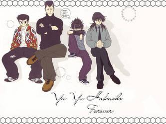 Yu Yu Hakusho Forever by DerevaunSeraun