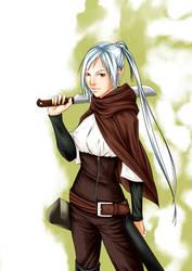 Hunter Leah by Atori-e