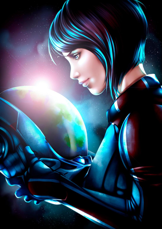 Mass Effect: Andromeda - Sara Ryder by Atori-e