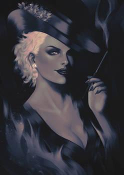 Young Cruella de Vil