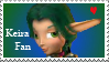 Keira Fan Stamp by KenxKao