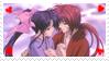 Kenshin Kaoru Stamp by KenxKao