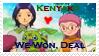 Kenyako Stamp by KenxKao