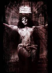 Crucified by Ariel-Belle