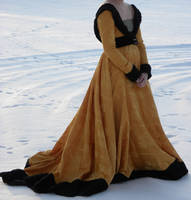 Burgundian 15th century dress by Fiskinfluensan