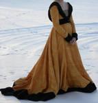 Burgundian 15th century dress by Fiskinfluensan