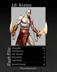 Kratos Top Trump by erole