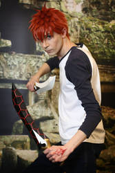 Emiya Shirou Cosplay by Otakon83