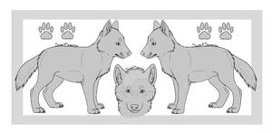 Wolf Pup Reference