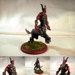 Table-Top Miniature: Lord Tirek by NPCtendo