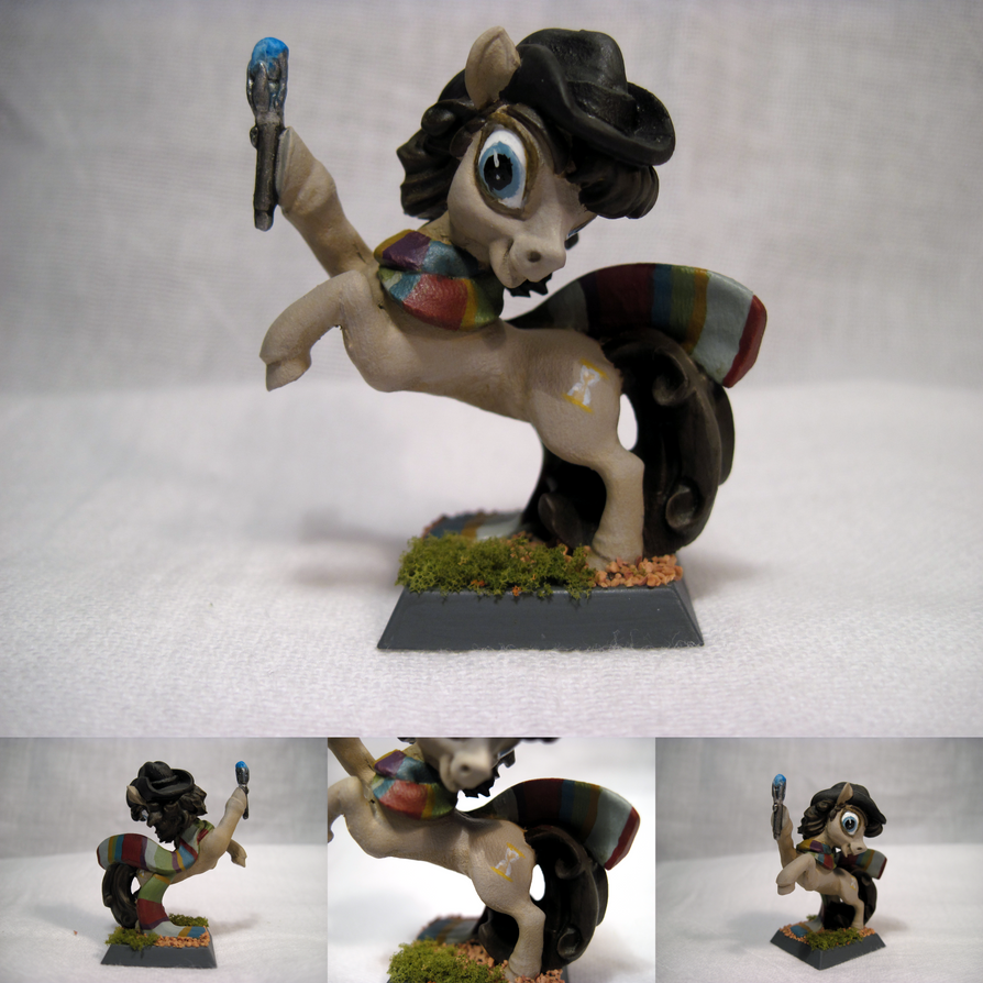 Miniature: Doctor Whooves by NPCtendo