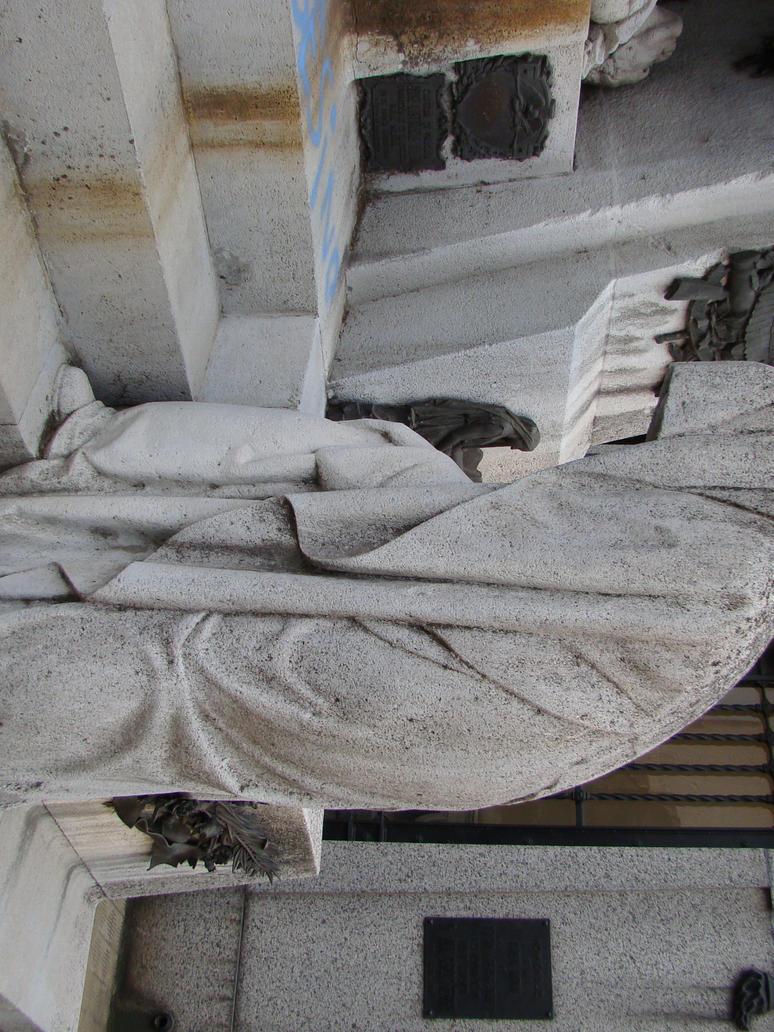 Cemetery Statue - 02 by akanefanel