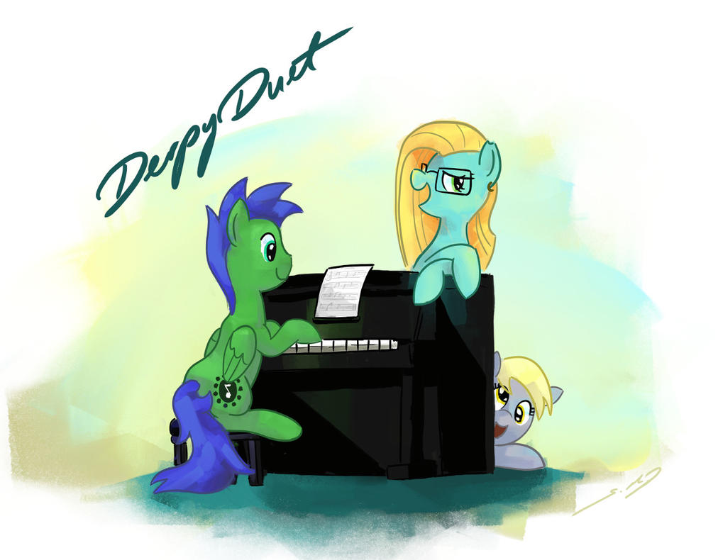 DerpyDuet by SeWoRig