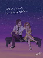 (What a Waste of) A Lovely Night by KungFuFreak07