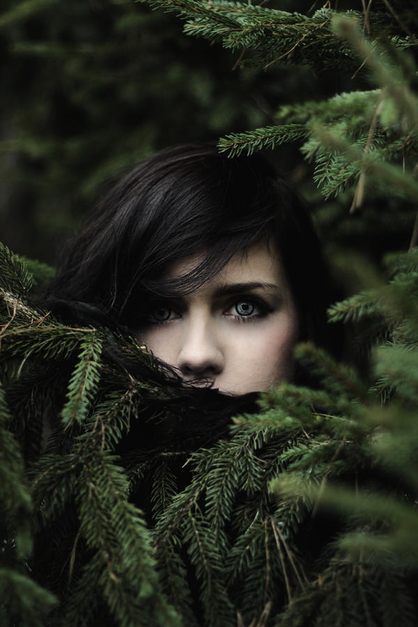 the girl of pine