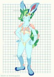 Summer Bunny Adoptable [OPEN] by Die-Valquiria