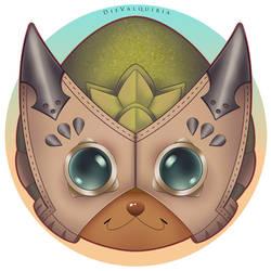 Pukei Pukei Palico Mask by Die-Valquiria