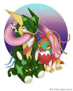 Flower x Grenerous [Commission]