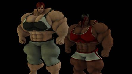 Sandra's Training Partner by TemplarGirl