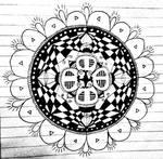 Hand-made Mandala