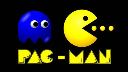 Pac Man 1920 X 1080 by DPCloud01
