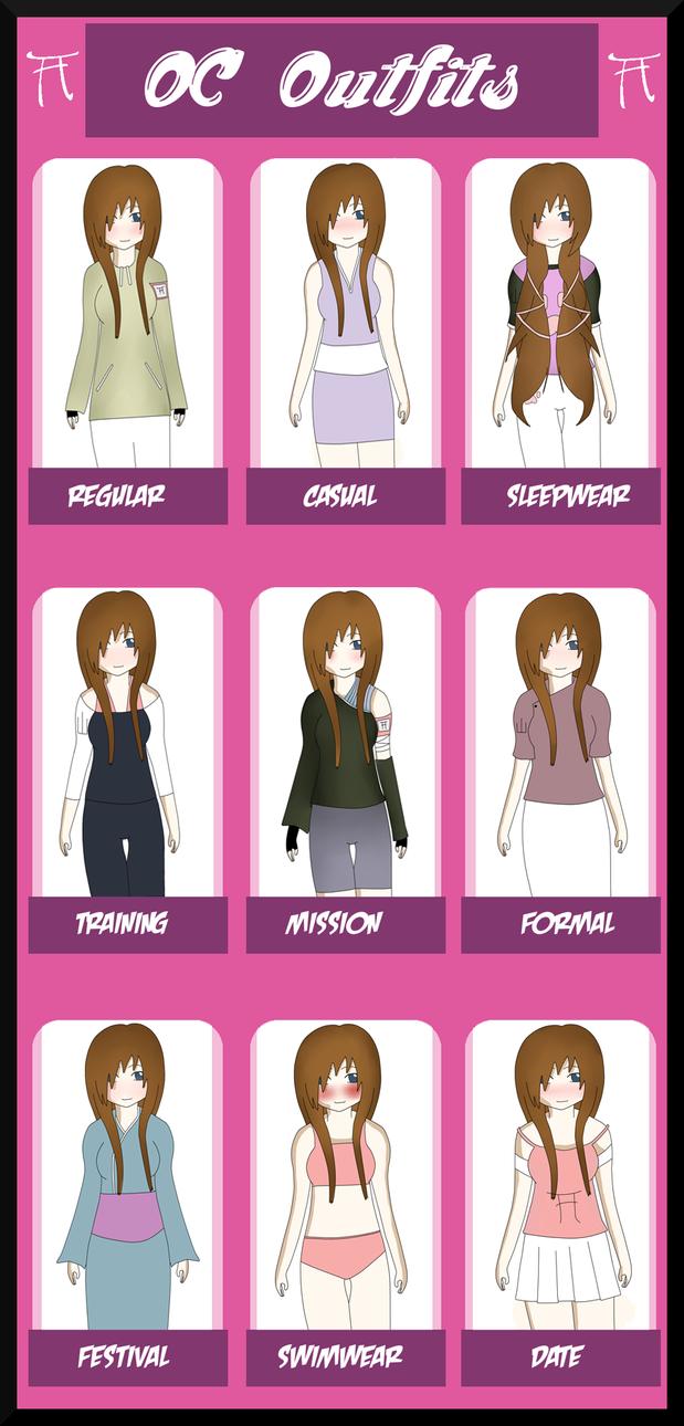 HSV: Naoki Outfit Sheet by MiyoKitten