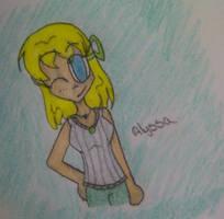 Alyssa by XxGreenNinjaChickxX