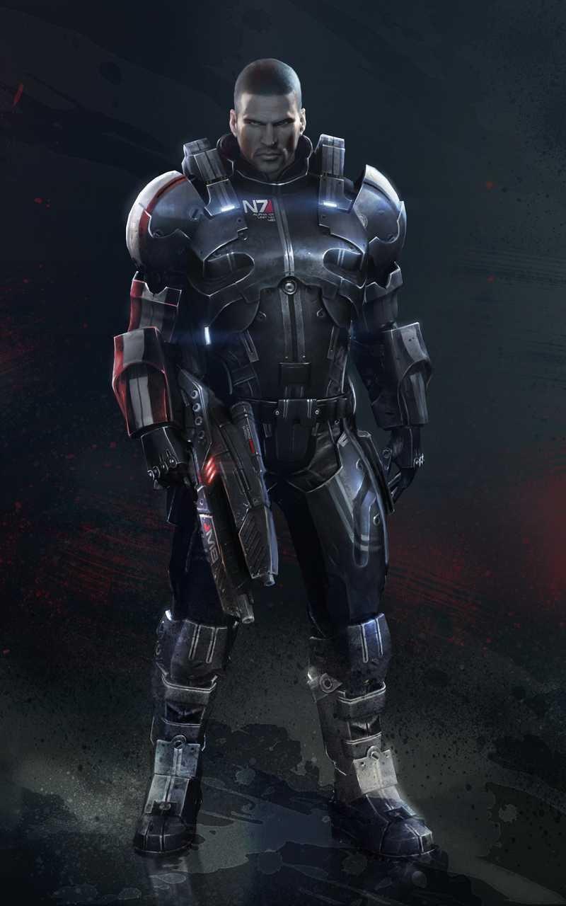Commander Shepard In N7 Defender Armor by countryboy1860 ...