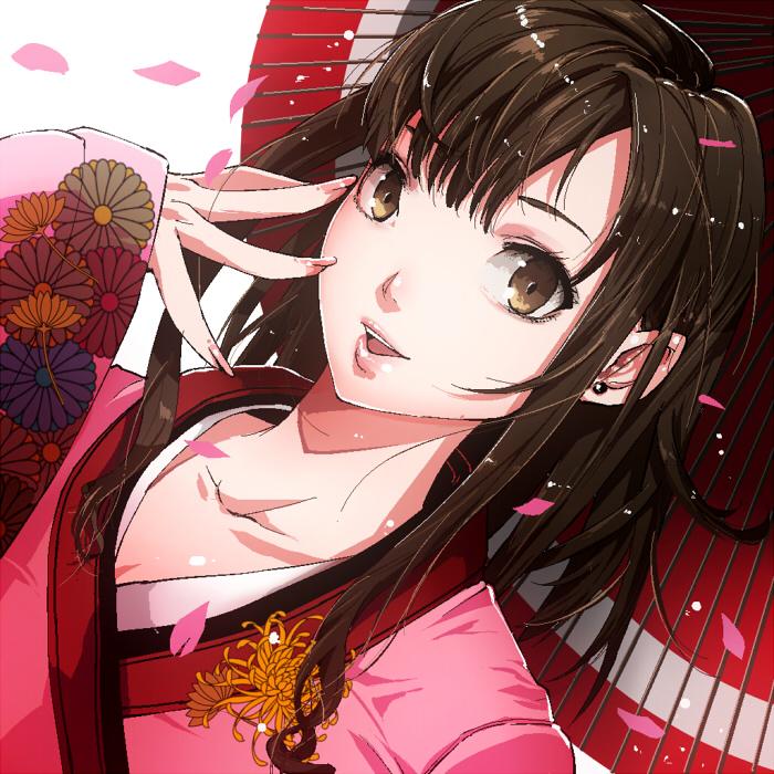 KIMONO girl by cevoy