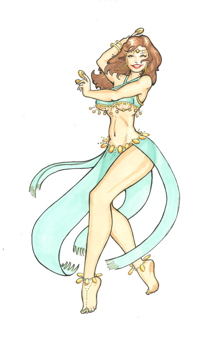 Dancer by JohnRose-Illustrator