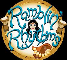 Ramblin' Rhythms Bellydance Logo