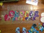 {Perler} Pony Conga Line